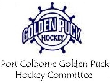 Logo for Port Colborne Golden Puck Hockey